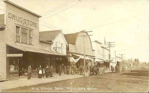 Falls City, Oregon when the Town was Thriving